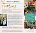 Troc & Moi Bulletin communal Andenne Janv Fév 2017